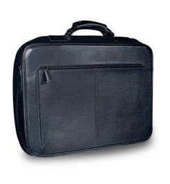 Leather Laptop Briefcases for Dell Computer - Rome